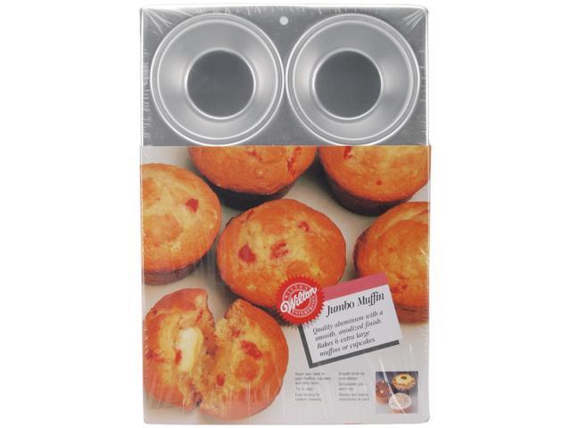 Wilton JUMBO SUPER-SIZE MUFFIN CUPCAKE PAN Baking Cake