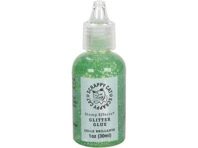 Scrappy Cat Glitter Glue 30Ml-Light Green