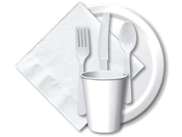 Heavy-Duty Cutlery 24/Pkg-White