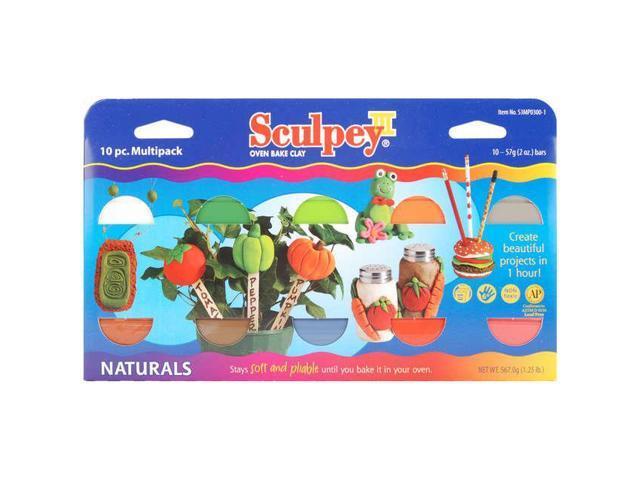Alvin S3MP03001 Sculpey Multipack Natural 10pc