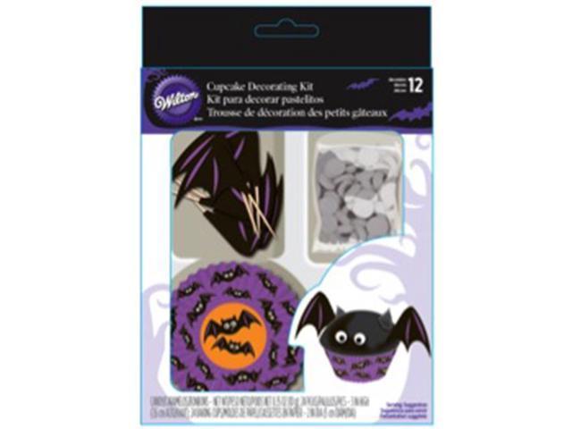 Cupcake Decorating Kit Makes 12-Bat