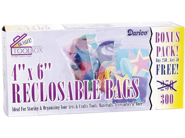 Reclosable Bags 300/Pkg-4