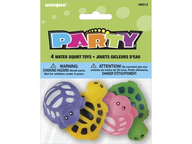 Party Favors 4/Pkg-Turtle Water Squirt Toy