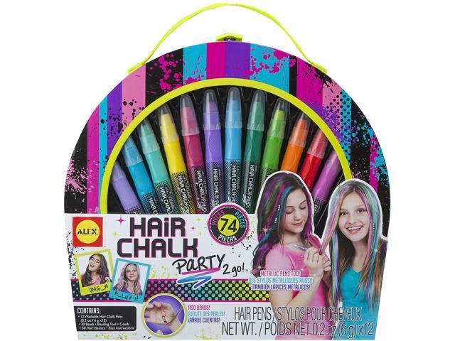 Hair Chalk Party 2 Go Kit-