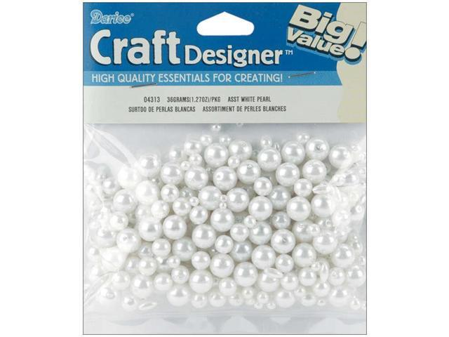Pearls Assorted 36g-White