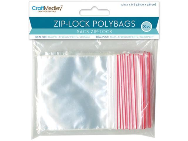 Ziplock Polybags 60/Pkg-3
