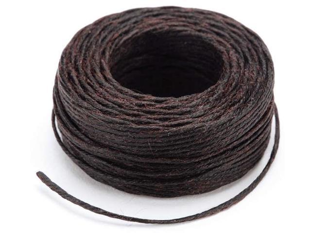Waxed Thread 25yd-Brown