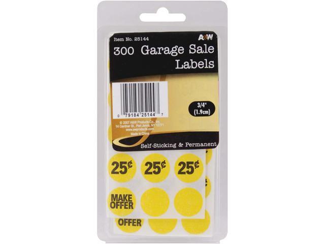 Labels-Garage Sale .75