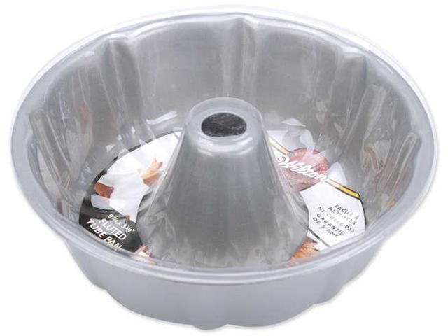 Recipe Right Fluted Tube Cake Pan-Round 9.75