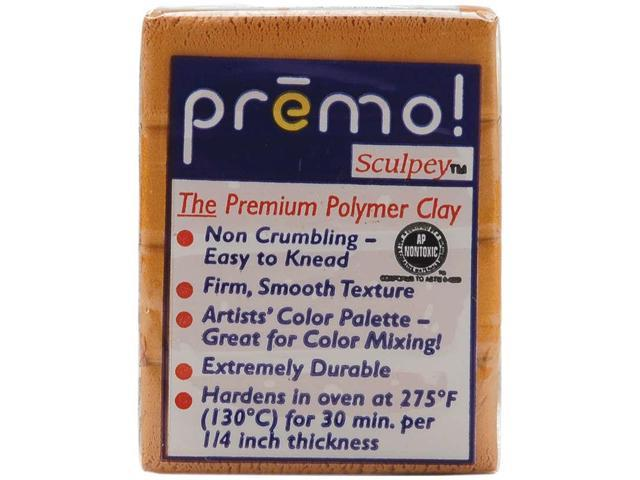 Premo Sculpey Accents Polymer Clay 2oz-Gold
