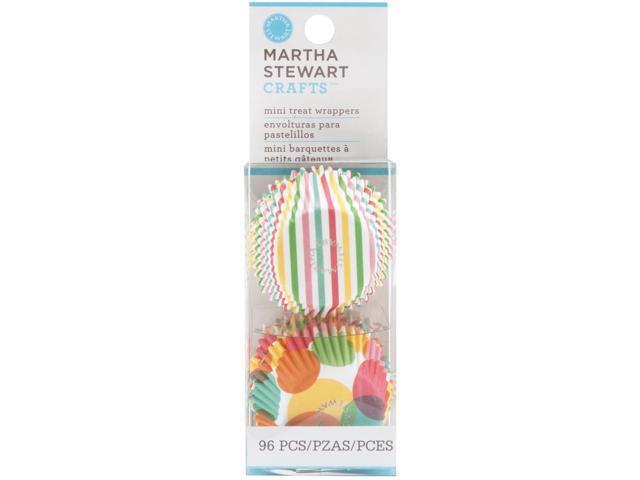 Modern Festive Mini Treat Wrappers 96/Pkg-