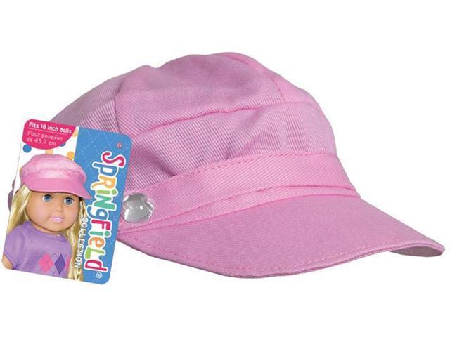 Springfield Collection Newsboy Cap-Pink