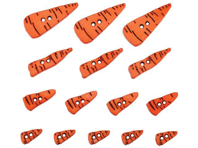 Dress It Up Holiday Embellishments-Carrot Noses