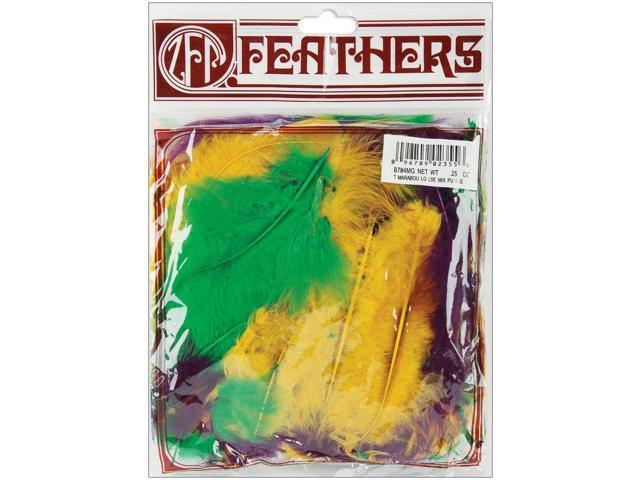 Marabou Feathers .25oz-Assorted