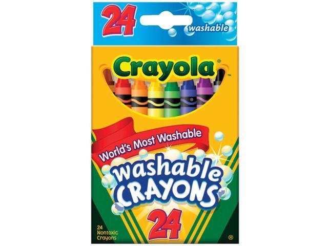 Crayola Washable Crayons-24/Pkg