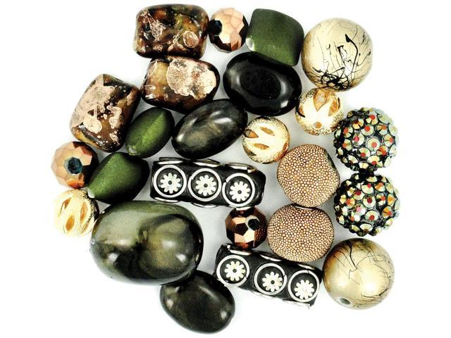 Inspirations Beads 50g-Natural Beauty