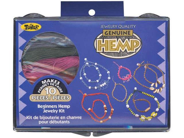Beginners Hemp Jewelry Kit-