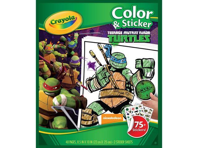 Crayola Color 'n Sticker Book 10