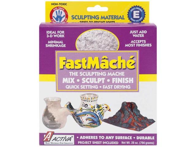 FastMache Sculpting Mache 2lb-Bright White