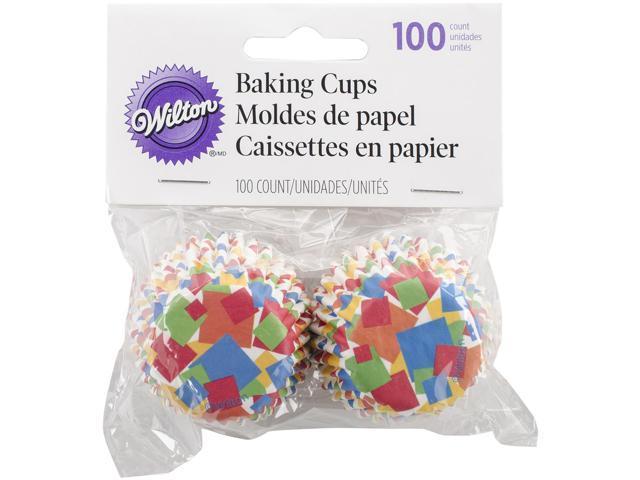 Mini Baking Cups-Confetti 100/Pkg