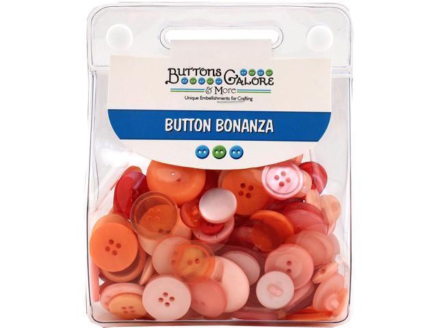 Buttons Galore Button Bonanza-Vintage Rose
