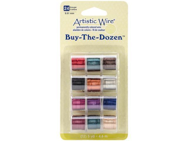 Artistic Wire Buy-The-Dozen 3yd 12/Pkg-24 Gauge