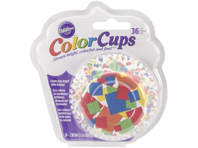 Colorcup Standard Baking Cups-Confetti 36/Pkg