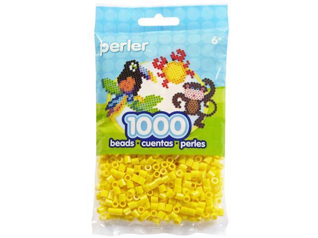 Perler Fun Fusion Beads 1000/Pkg-Yellow