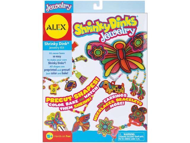 Alex Toys Jewelry Shrinky Dinks Kit