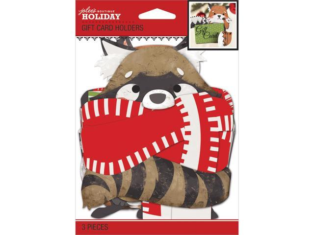 Jolee's Christmas Contemporary Gift Card Holders 3/Pkg-
