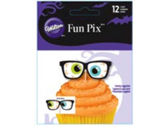 Fun Pix-Halloween Eyes 12/Pkg