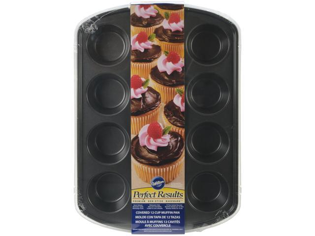 Perfect Results Covered Muffin Pan-12 Cavity 15
