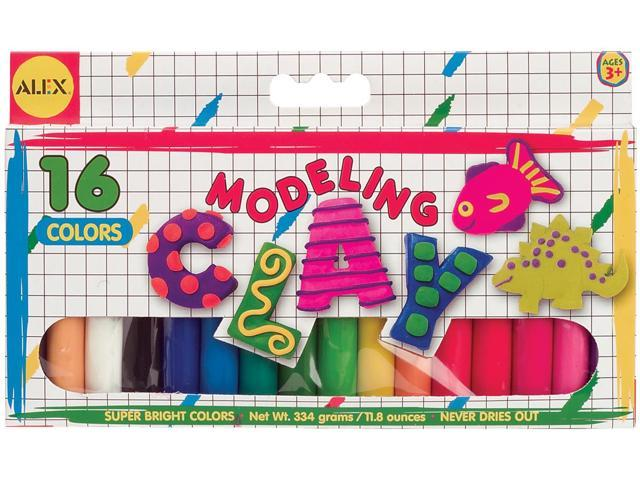 Modeling Clay .75oz 16/Pkg-Assorted Colors