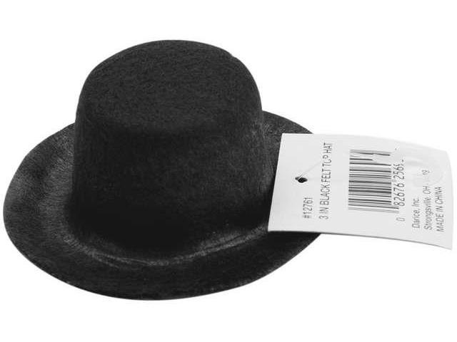 Stiffened Felt Top Hat 3