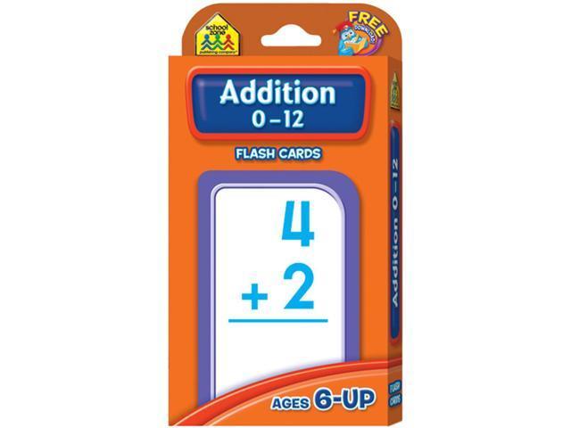 Flash Cards-Addition 0-12 55/Pkg