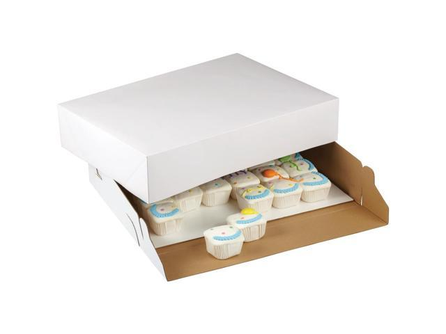Corrugated Cake Box With Window 2/Pkg-19