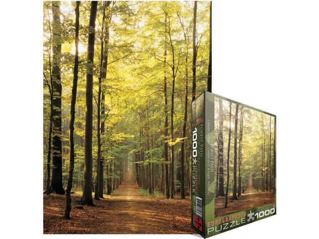 Eurographics EUROPZ-3846 Jigsaw Puzzle 1000 Pieces 19.25 in. X26.5 in. -Forest Path