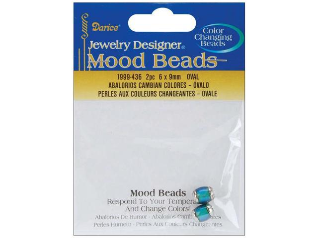 Mood Beads 6mmX9mm-Oval