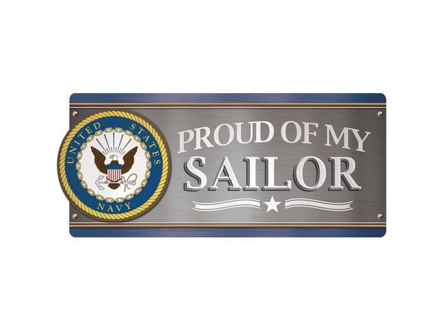 Car Magnet-U.S. Navy - Proud Of My Sailor