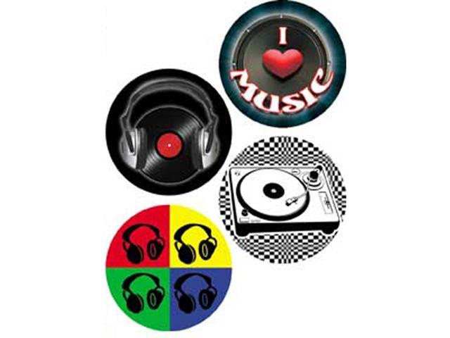 Button Set 4/Pkg-Music