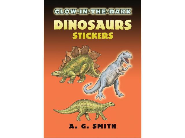 Dover Publications-Glow-In-The-Dark Dinosaurs Stickers