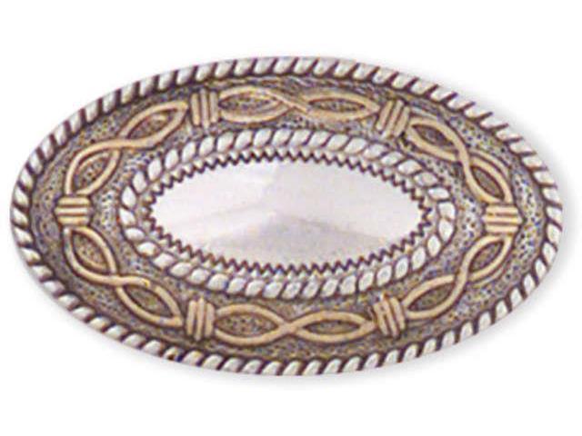 Concho Silver & Gold Screwback 1.5
