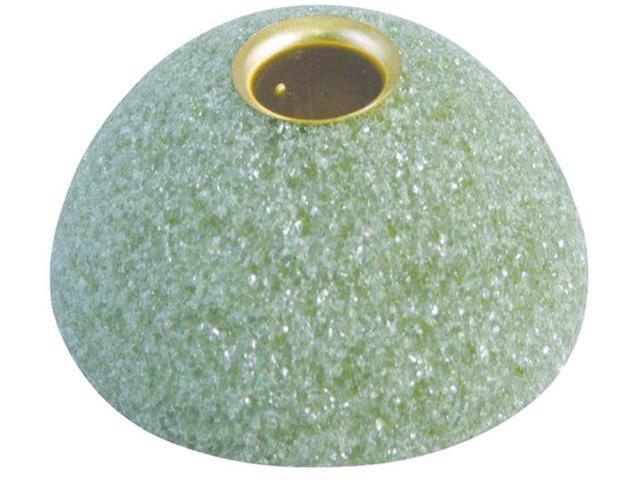 Styrofoam Half Ball Arranger W/Taper Candle Holder-3.938