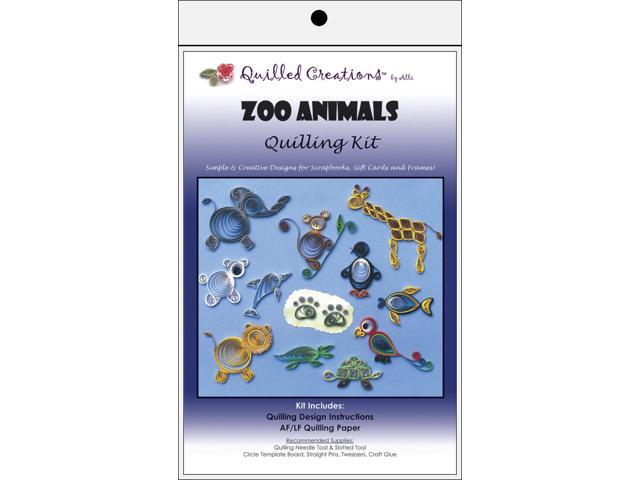 Quilling Kit-Zoo Animals