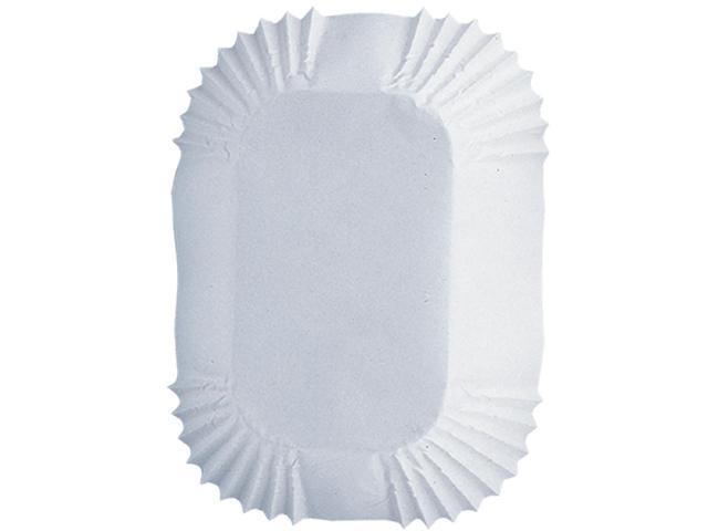 Petite Loaf Cups-White 50/Pkg 1.25