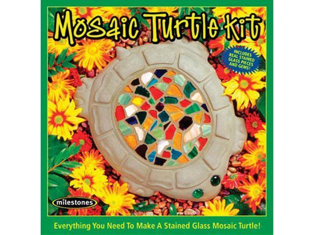 Mosaic Stepping Stone Kit-Turtle