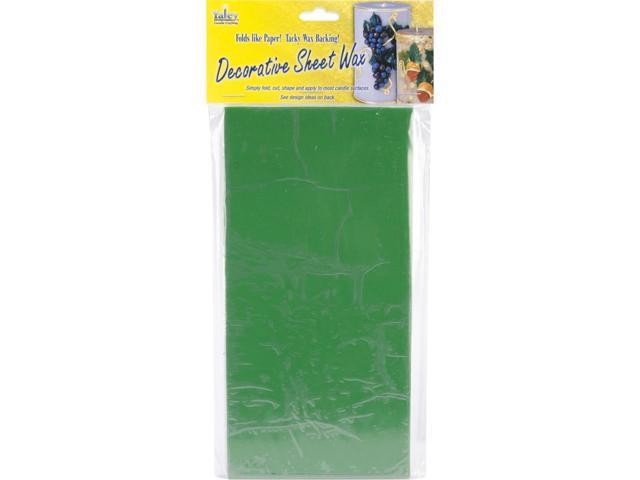 Decorative Wax Sheets 8/Pkg-Christmas