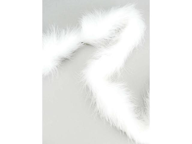 Marabou Feather Boa Solid Color Heavyweight 72