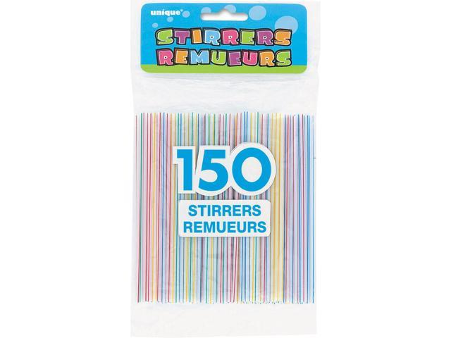 Stirrers 150/Pkg-Striped