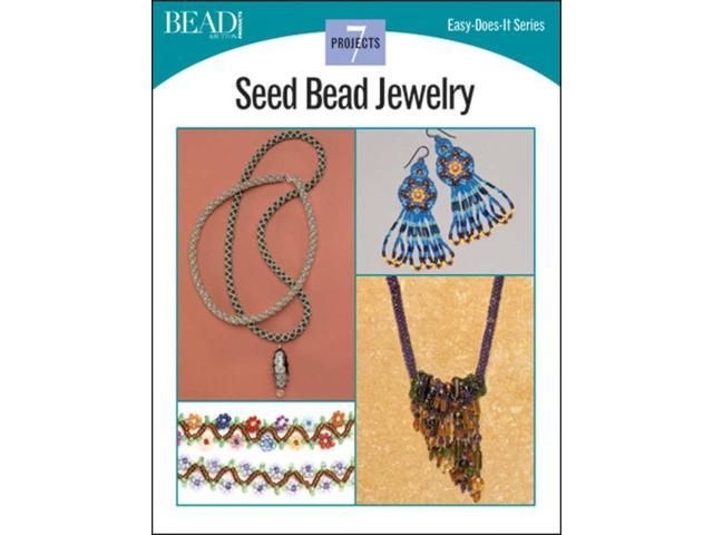 Kalmbach Publishing Books-Seed Bead Jewelry